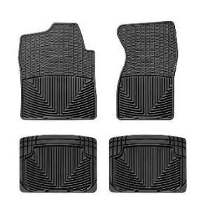 Black WeatherTech Floor Mat (Full Set) [Classic (Old) Body Style