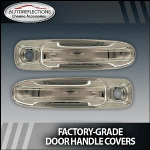 2002 2008 Dodge Ram pickup Chrome Door Handle Covers (2dr w/ passenger