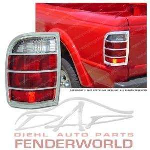 FORD RANGER 98 99 00 01 CHROME TAIL LIGHT COVER TRIM