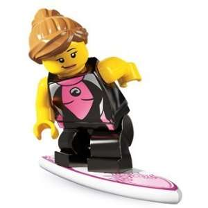 Lego Series 4 Surfer Girl Mini Figure Toys & Games
