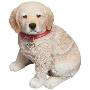 Sandicast® Life Size Golden Retriever Pup Statue