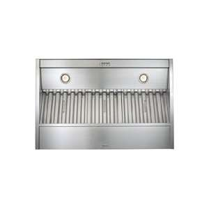 Best 36 Brushed Stainless Steel Hood Liner Insert