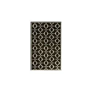 Indoor/Outdoor Hand Tufted Area Rug Arabesque 3 6 x 5 6