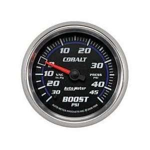 7908 Cobalt 2 5/8 30 in. Hg/45 PSI Mechanical Vacuum/Boost Gauge