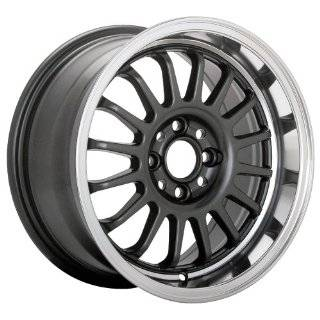 15x8 Konig wheels Wideopen Gloss Black w/ Machined Lip wheels rims