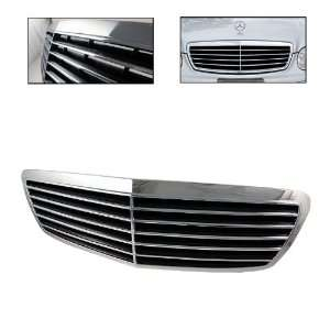 Mercedes E Class W211 03 06 9 Rubbers Front Grille   Chrome
