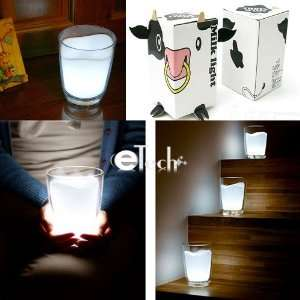 Kids Toy White Milk Glass Shape led light lamp
