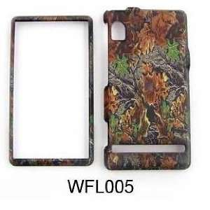 Motorola Droid A855, Camo Snapon Hunter Series, Mossy, Cover, Case