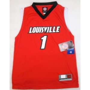 NCAA Louisville Cardinals #1 Youth Basketball Jersey Small