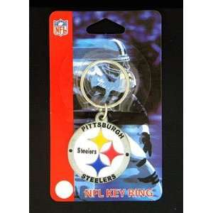 Pittsburgh Steelers NFL Logo Key Ring