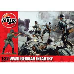 32 Scale German Infantry Figures Classic Kit Series 2 Toys & Games
