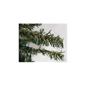 8 Pre Lit Natural Alpine Artificial Christmas Tree