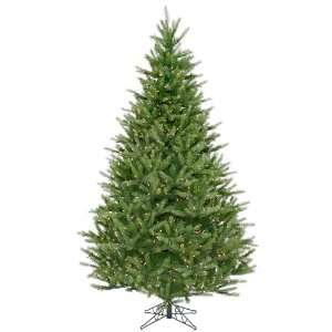 9 Pre Lit Full Bavarian Fir Christmas Tree   1400 Clear