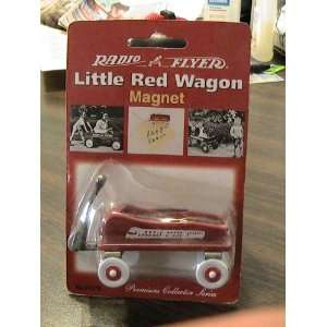 Radio Flyer Little Red Wagon Miniature Toy Magnet Collector #51378