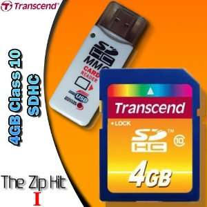 SDHC Class 10 Flash Card and USB 2.0 Card Reader/Writer. Electronics