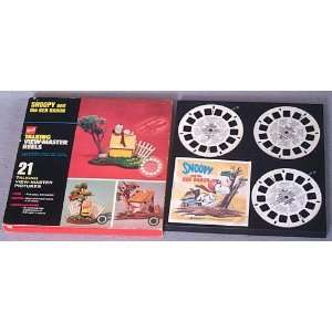 Vintage Snoopy GAF Talking View Master Reels