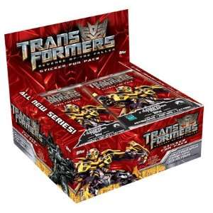 Revenge of the Fallen Trading Cards Box   24 Packs Toys & Games