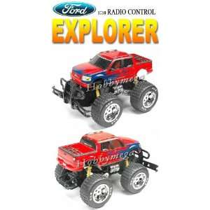10 Scale Giant Radio Control Sports Ford Explorer Truck Toys & Games