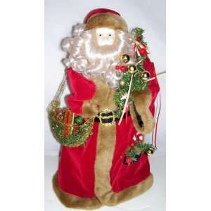 18 Santa Christmas Tree Topper