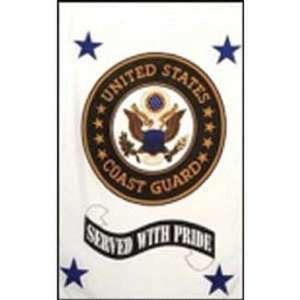 United States Coast Guard Served With Pride 28 x 40