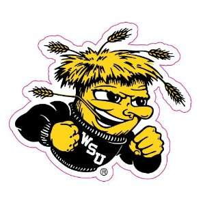 Wichita State Shockers Team Auto Window Decal (12 x 10  inch)