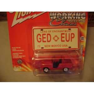 Johnny Lightning Working Class 1966 Ford Bronco Toys