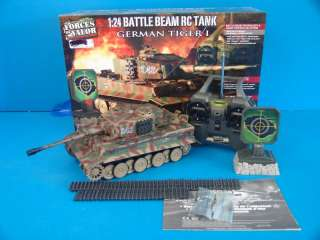 Forces of Valor R/C Tank Battle Beam German Tiger Electric AA