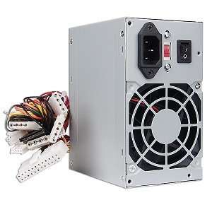 480 Watt 20+4 Pin ATX Power Supply with SATA Electronics