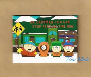 SOUTH PARK Comedy Central Cartman Fart Fire Fun MAGNET