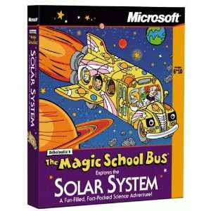 Magic School Bus Explores the Solar System [Old Version] Software
