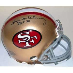 Hugh McElhenny Autographed/Hand Signed San Francisco 49ers Throwback