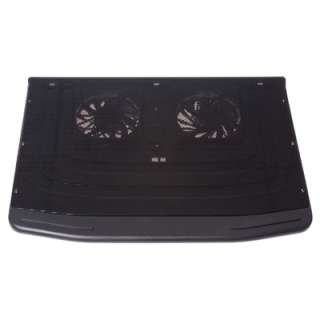 USB Notebook Cooler Cooling Pad Dual Fan for Laptop PC