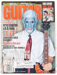 GUITAR WORLD MAGAZINE WES BORLAND LIMP BIZKIT EVERCLEAR
